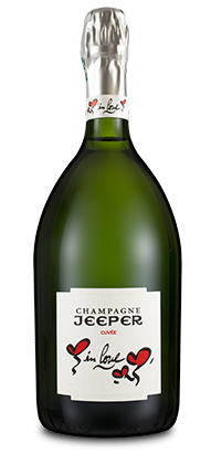 Bouteille Champagne Jeeper inlove