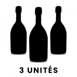 Par 3 bouteilles